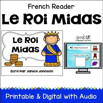 Le Roi Midas ~ Simplified French King Midas Reader