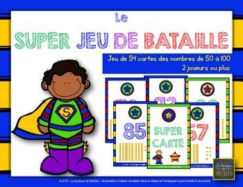 Le SUPER JEU DE BATAILLE [Math Center] [French]