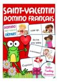 Le Saint-Valentin - French domino game (Valentine´s Day)