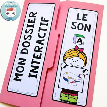 Le Son A - French Phonics Lapbook