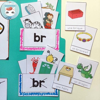 Le Son BR - French Phonics Lapbook