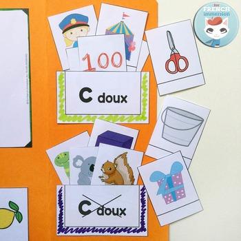 Le Son C doux - French Phonics Lapbook