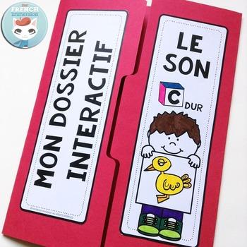 Le Son C dur - French Phonics Lapbook