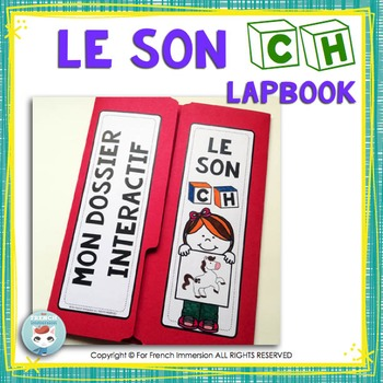 Le Son CH - French Phonics Lapbook