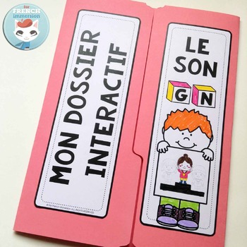 Le Son GN - French Phonics Lapbook