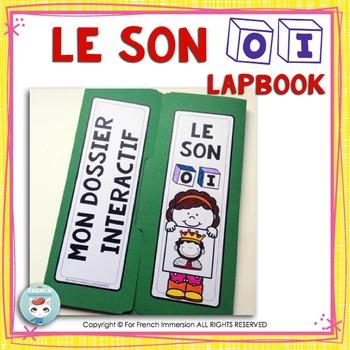 Le Son OI - French Phonics Lapbook
