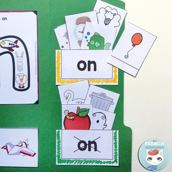Le Son ON - French Phonics Lapbook