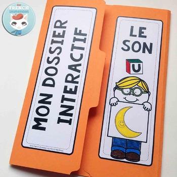 Le Son U - French Phonics Lapbook