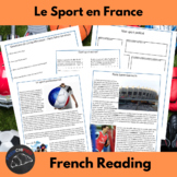 Le Sport en France - readings and activities