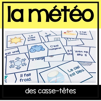La Météo/Le Temps casse-tête