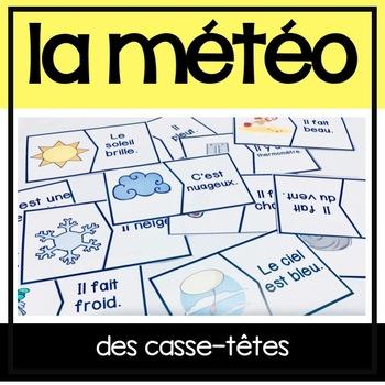 La Météo/Le Temps - Jouez au casse-tête