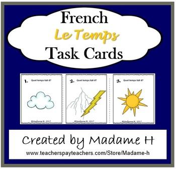 Le Temps Task Cards