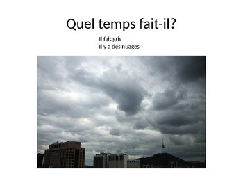 Le Temps - Weather Powerpoint