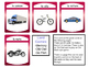 Le Transport Card Games – Transportation Vocabulary in French