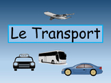 Le Transport- Transportation Vocabulary in French- Activity Packet