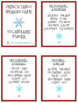 French Winter Vocabulary Taboo Game - Le Vocabulaire d'Hiver