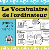 Le Vocabulaire de L'ordinateur: Computer Vocabulary for French