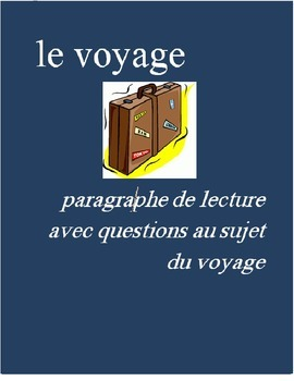 Le Voyage FRENCH Reading on Travel