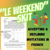 Le Weekend-French Skit (Bien Dit 1 Chapter 8)