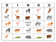 Le Zoo Bingo – Zoo Animals in French