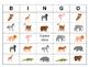 Le Zoo Bingo – Zoo Animals in French