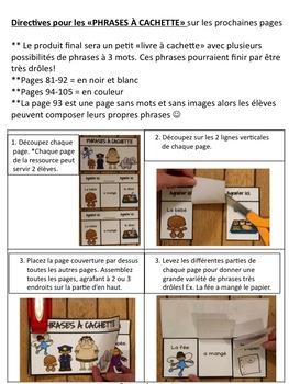 Le bébé fâché! (Comptine & activités, le son é, er, ez) French phonics, Les sons