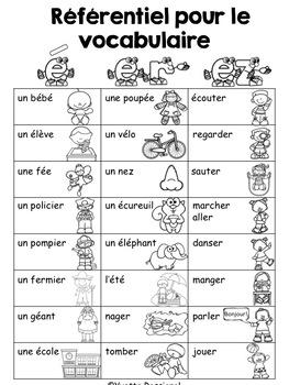 Comptine & activités pour le son é, er, ez - French poem for reading and writing
