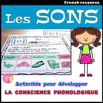 Le cahier des sons simples et complexes - French Phonics, Sounds {NO PREP}