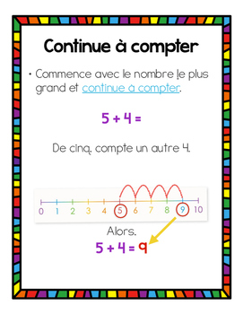 Le calcul mental - Stratégies de maths / Mental Math Strategies