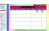 Le calendrier! Interactive whiteboard calendar routine
