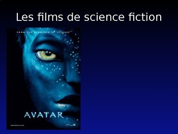 Le cinema / Les films / Movies / Types of movies