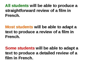 Le cinema francais / French cinema / French movies