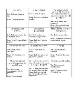 Le conditionnel présent - théorie, exercices et jeu