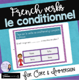 Le conditionnel task cards FRENCH BOOM CARDS CONDITIONAL TENSE