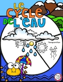 Le cycle de l'eau - FRENCH Water Cycle Spinner