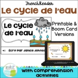 Le cycle de l'eau ~ French Water Cycle Reader + BOOM™ Version with audio