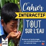 Sciences en Français: Cahier Interactif / Le cycle de l'eau