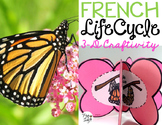 Le cycle de vie d'un papillon - FRENCH Life Cycle Craft