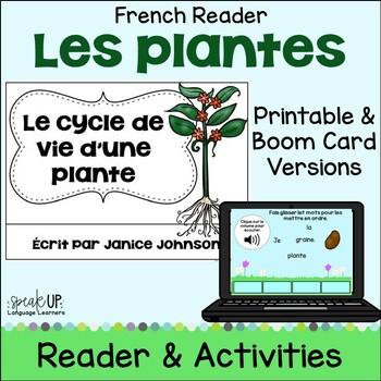 Le cycle de vie d'une plante ~ French Plant Lifecycle Reader {français}