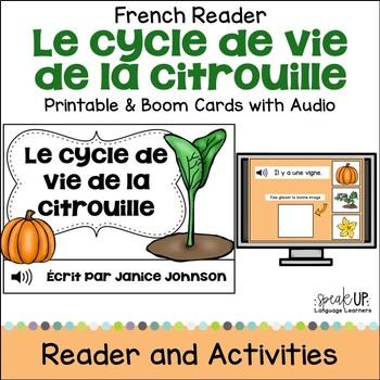 Le cycle de vie de la citrouille French Pumpkin Lifecycle Reader