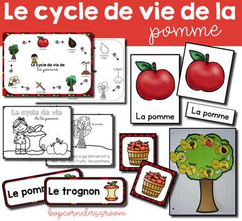 Le cycle de vie de la pomme - Pack 2 - Apple life cycle