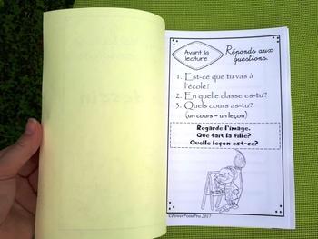 Le dessin - Livre de lecture avec activités de compréhension (Lecture Guidée)