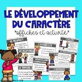 Le développement du caractère (Character Development) Affi