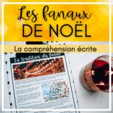 French Reading Comprehension - Le fanal de Noël