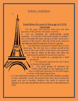 Le futur regulier FRENCH
