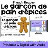 Le garçon de pain d'épices ~ Simplified French Gingerbread Man Reader