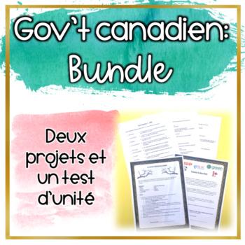 Le gouvernement fédéral du Canada
