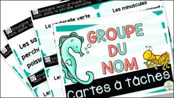 Le groupe du nom : Cartes à tâches