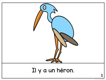 Le héron ~ French The Heron Fable Reader ~Simplified for Language Learners
