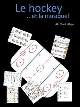 Le hockey et La musique  - en français